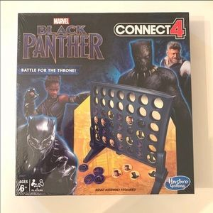 Marvel Black Panther Connect 4 Game NEW